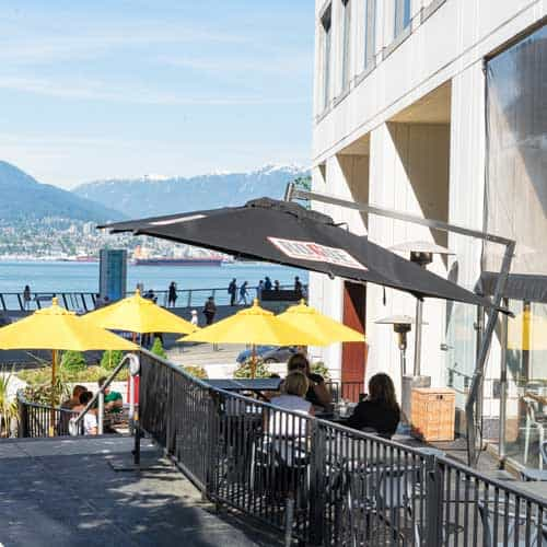 Rogue Restaurant in Coal Harbour