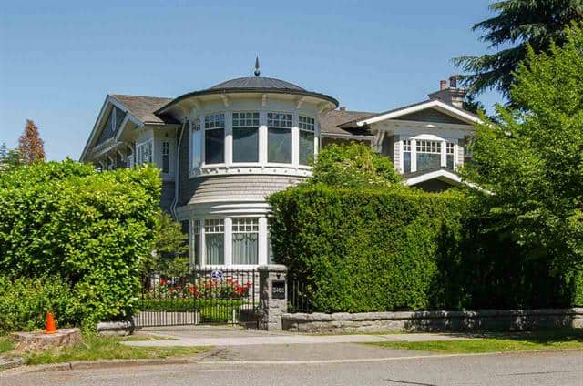Most Expensive Houses in Vancouver - 3402 OSLER STREET