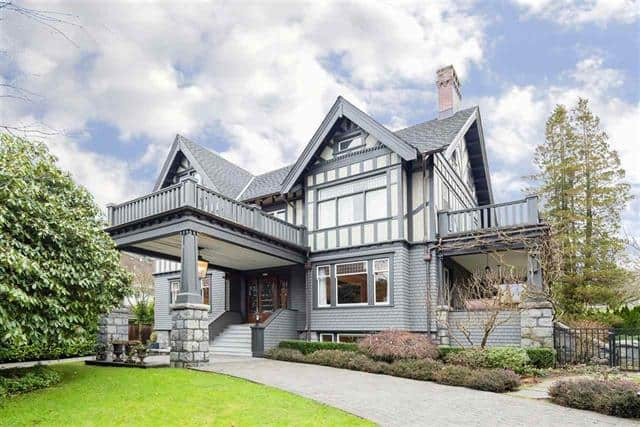 Most Expensive Houses in Vancouver - 3490 CYPRESS STREET